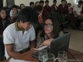 Videoconferencia con India 14