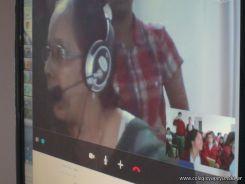 Videoconferencia con India 33