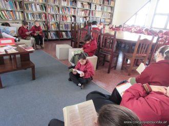 2do grado en Biblioteca 23