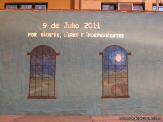 Acto por el Dia de la Independencia en el Jardin 1
