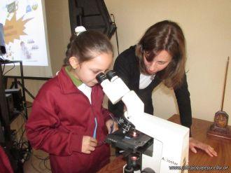 Aprendimos a usar el Microscopio Optico 42