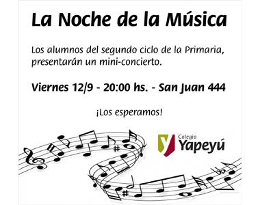 La Noche de la Musica - Blog