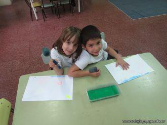 Crayon Fluor y Tempera Aguada 9