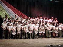 Acto de Clausura de la Secundaria 2014 1