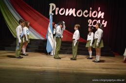 Acto de Colacion de la Promocion 2014 de Primaria 70