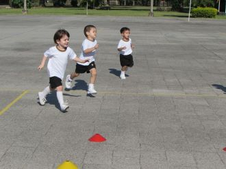 El Jardín comenzó Educación Física 20