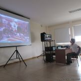 Skype con el North Cross School 16
