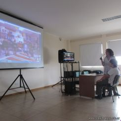 Skype con el North Cross School 18