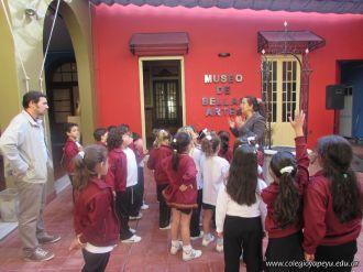 1er grado visito el Museo de Bellas Artes 1