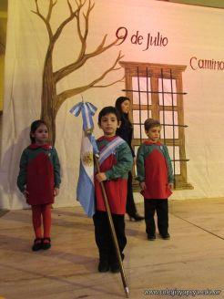 Acto por el Día de la Independencia del Jardin 43