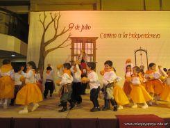 Acto por el Día de la Independencia del Jardin 77