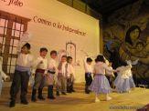 Acto por el Día de la Independencia del Jardin 90