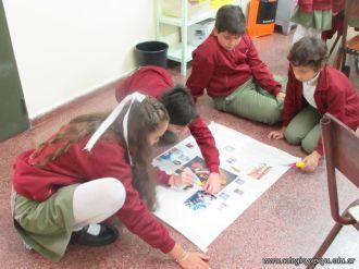 San Martin en el Colegio Yapeyur 1