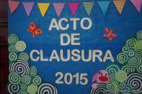 Acto de Clausura de Primaria 2015 1