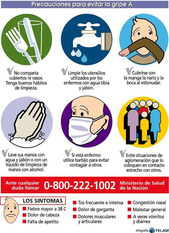 Para evitar la Gripe A