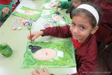 Pintando a Frida Kahlo en Salas de 5 54
