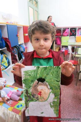 Pintando a Frida Kahlo en Salas de 5 67