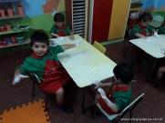 Espuma en salas de 4 años 10
