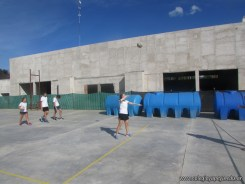 Gran arranque de clases en el campo deportivo 55