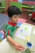 Pintando con pinceles 12