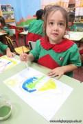 Pintando con pinceles 13