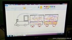 Dibujando trenes 31