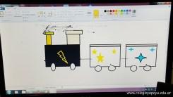 Dibujando trenes 8
