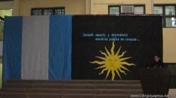 Acto del Día de la Bandera 1