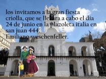 Invitaciones para la fiesta criolla 10