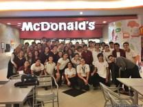 Visita a McDonald