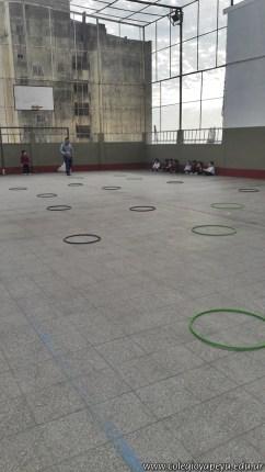 Educación física en Jardín 16