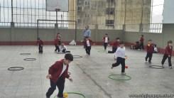 Educación física en Jardín 18