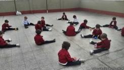 Educación física en Jardín 5