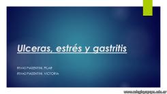 Estrés, gastritis, úlceras 1