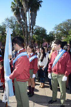 Festejo de Cumpleaños y Desfile en Homenaje a San Martin 161