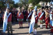 Festejo de Cumpleaños y Desfile en Homenaje a San Martin 165