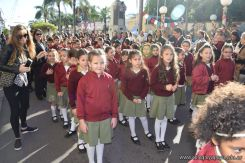 Festejo de Cumpleaños y Desfile en Homenaje a San Martin 50