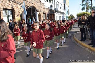 Festejo de Cumpleaños y Desfile en Homenaje a San Martin 61