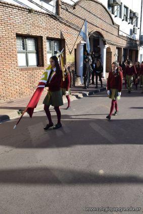 Festejo de Cumpleaños y Desfile en Homenaje a San Martin 74