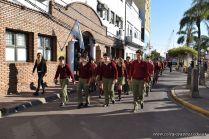 Festejo de Cumpleaños y Desfile en Homenaje a San Martin 75