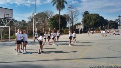 Hermosa tarde a puro deporte en el campo deportivo 12