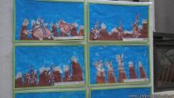 Pintando el cruce de los Andes 109
