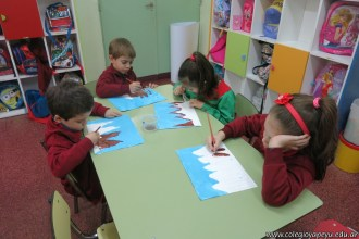 Pintando el cruce de los Andes 57