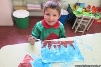 Pintando el cruce de los Andes 68