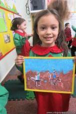 Pintando el cruce de los Andes 96