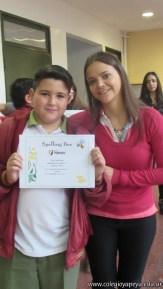 Certificados Spelling Bee 19