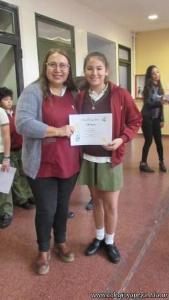 Certificados Spelling Bee 25
