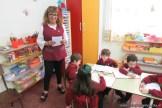 Cruzando el puente de jardín a primaria 3