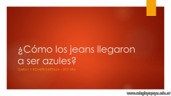 Jeans azules 1