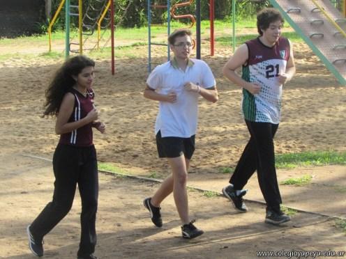 Actividades de Educación Física de Alumnos de Ciclo Orientado 23